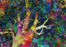 Abstract tree stock illustration