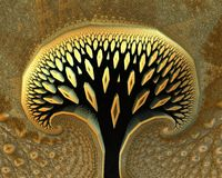 Abstract tree Royalty Free Stock Photos