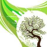 Abstract tree design Stock Image