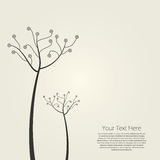 Abstract tree design Stock Images