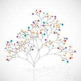 Abstract tree. Ecology background Royalty Free Stock Images