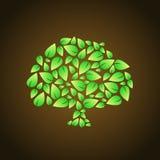 Abstract tree icon Stock Photos
