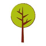 Abstract tree icon image. Vector illustration design Stock Photos