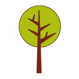 Abstract tree icon image. Vector illustration design Stock Image