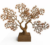 Abstract Tree for Interior Design Royalty Free Stock Photos
