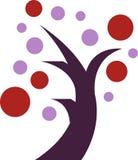 Abstract Tree Logo Royalty Free Stock Image