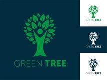 Abstract Tree Logo Vector Illustration vector illustration
