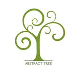 Abstract tree. May be used as icon Stock Photography