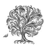 Abstract tree with roots for your design Stock Images