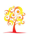 Abstract tree series..summer Stock Images