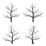 Abstract tree silhouette Royalty Free Stock Photo