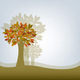 Abstract Tree. Vector Stock Photography
