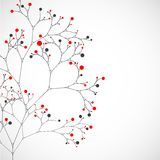 Abstract tree. Vector background Stock Photo
