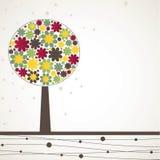 Abstract tree. Vector illustration Stock Photos