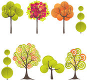 Abstract tree. Vector illustration Royalty Free Stock Photos