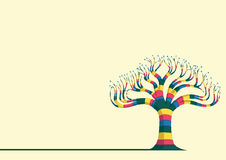 Abstract Tree Vector Illustration. Eps 8 Royalty Free Stock Photography