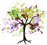 Abstract tree Royalty Free Stock Photography