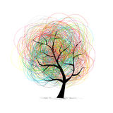 Abstract tree for your design Stock Photos