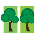 Abstract trees  Royalty Free Stock Photography