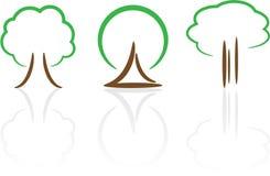 Abstract trees Stock Photo