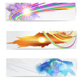 Abstract trendy banner or header set. Abstract trendy vector banner or header set vector illustration