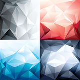 Abstract Trendy Polygon Shape Background for Desig. Vector Abstract Trendy Polygon Shape Background for Design Layout royalty free illustration