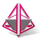 Abstract  triangle Stock Image