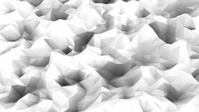 Abstract triangle. Black and white Stock Photos
