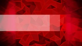 Abstract triangle animated background. Abstract triangle animated red background with white solid stock video footage