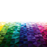 Abstract triangle background. With colorful Royalty Free Stock Photography