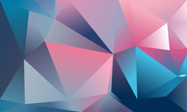 Abstract triangle background. Deep pink, cyan. 10 EPS Stock Images