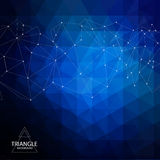 Abstract triangle background Stock Images