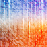 Abstract triangle background with lines Royalty Free Stock Images