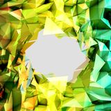 Abstract Triangle Background. Modern Background Formed by Triangles in Abstract Style Stock Photography