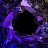 Abstract Triangle Background. Modern Background Formed by Triangles in Abstract Style Royalty Free Stock Images