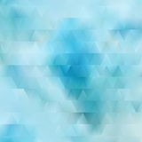 Abstract triangle background, modern geometric forms. For unique design Stock Photo