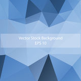 Abstract triangle background, modern geometric forms Royalty Free Stock Photos