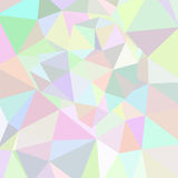 Abstract triangle background. Pink palette Royalty Free Stock Photography