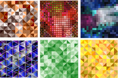Abstract triangle background Royalty Free Stock Images