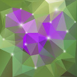 Abstract triangle background Stock Photo