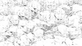 Abstract triangle. Black and white Royalty Free Stock Photos
