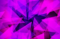 Abstract triangle colorful background Royalty Free Stock Photos