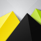 Abstract triangle colorful design background Royalty Free Stock Photos