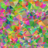 Abstract triangle colorful texture Stock Images