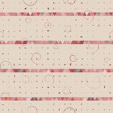 Abstract of triangle, dot, swirl Stock Photo