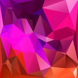 Abstract triangle geometric square background Stock Image