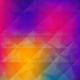 Abstract triangle geometrical background. Stock Photo