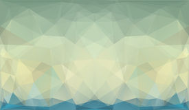 Abstract Triangle Geometrical Background Stock Photography