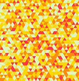 Abstract Triangle Geometrical Seamless Summer Background Royalty Free Stock Image