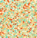 Abstract Triangle Geometrical Seamless Summer Background Royalty Free Stock Photo